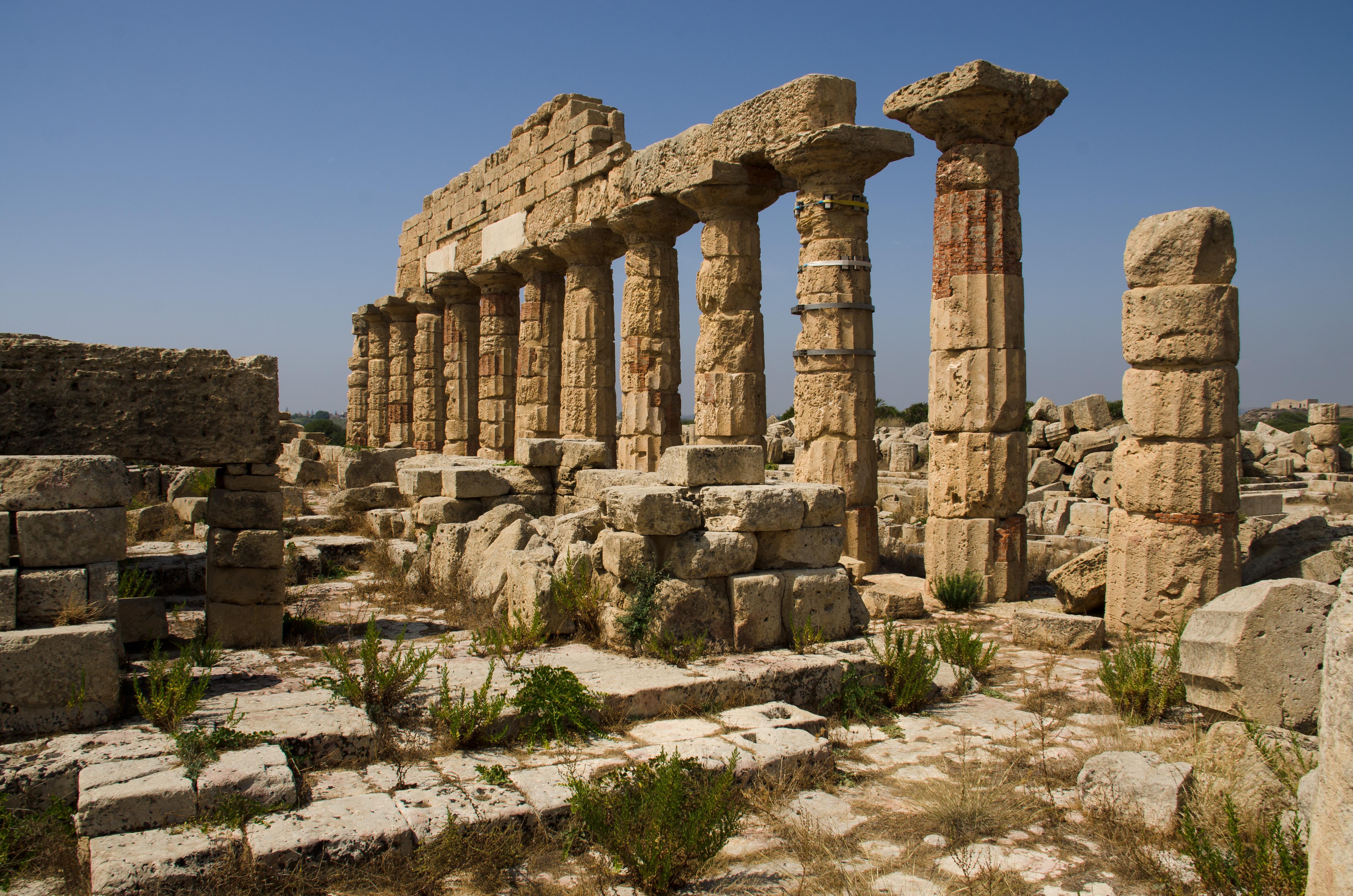 Selinunte Sicilie